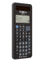 Rekenmachine 30XPRO Mathprint - TEXAS INSTRUMENTS