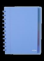 Schrift - gelijnd - ATOMA A4+ - 6 tabs  - 5 pochetten - 60 vellen