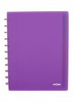 Schrift - commercieel geruit - ATOMA A4+ - 6 tabs  - 5 pochetten - 60 vellen