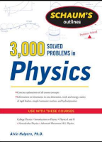 Schaums 3000 Solved Problems in Physics
