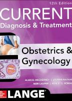 CURRENT Diagnosis & Treatment Obstetrics & Gynecology