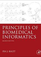 Principles of Biomedical Informatics