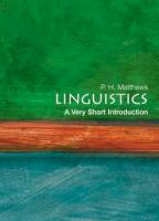 Linguistics: A Very Short Introduction