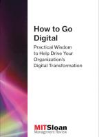 How to Go Digital