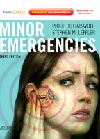 O/E Minor Emergencies