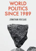 World Politics since 1989