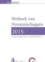 Zakboekje Vennootschappen 2015