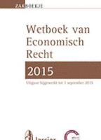 Zakboekje Economisch Recht 2015