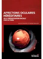 Affections Oculaires Héréditaires Ou à Predisposition Raciale Chez Le Chien