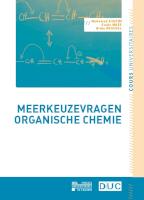 Meerkeuzevragen organische chemie