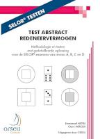 Test Abstract Redeneervermogen