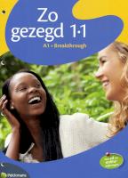Zo gezegd 1.1 Leerwerkboek Nederlands voor anderstaligen