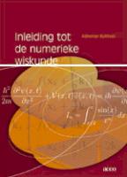 Inleiding tot de numerieke wiskunde