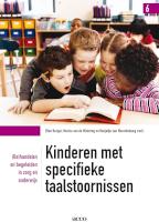 Kinderen met specifieke taalstoornissen