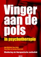 Vinger aan de pols in psychotherapie