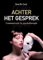 Achter het gesprek: Communicatie in psychotherapie
