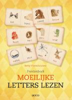 Prentenboek Moeilijke letters lezen