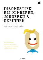 Diagnostiek bij kinderen, jongeren en gezinnen