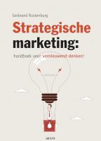 Strategische marketing: handboek voor vernieuwend denken-