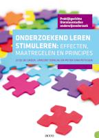 Onderzoekend leren stimuleren: effecten, maatregelen en principes (E-book)