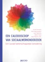 Een caleidoscoop van sociaalwerkonderzoek