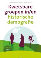Kwetsbare groepen in/en historische demografie