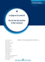 De rol van de rechter in het contract/Le juge et le contrat