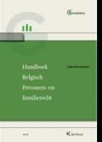 Handboek Belgisch personen- en familierecht editie 2016