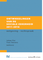 Ontwikkelingen sociale zekerheid 2011-2016