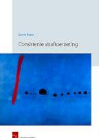 Consistente straftoemeting