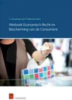 Wetboek Economisch Recht en de bescherming van de consument