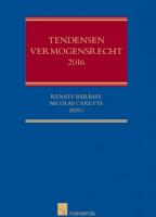 Tendensen Vermogensrecht 2016
