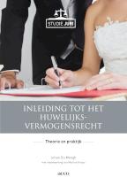 Inleiding tot het huwelijksvermogensrecht