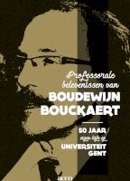 Professorale belevenissen van Boudewijn Bouckaert