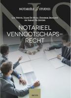 Notarieel vennootschapsrecht