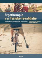 Ergotherapie en fysieke revalidatie
