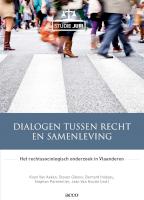 Dialogen tussen recht en samenleving