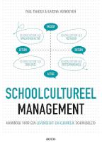 Schoolcultureel management