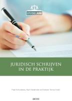 Juridisch schrijven in de praktijk