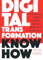 Digital Transformation Know How (e-book)
