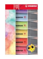 Markeerstift - Etui 6 stuks - STABILO BOSS ORIGINAL Pastel N2