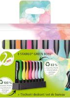 Markeerstift - Etui 8 stuks - STABILO BOSS GREEN